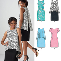 New Look 6430 Pattern ( Size 10-12-14-16-18-20-22 )
