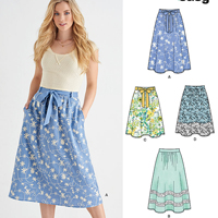 New Look 6437 Pattern ( Size 10-12-14-16-18-20-22 )