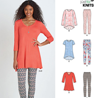 New Look 6439 Pattern ( Size XS-S-M-L-XL )