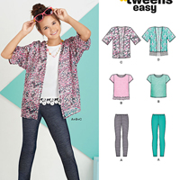 New Look 6445 Pattern ( Size 8-10-12-14-16 )