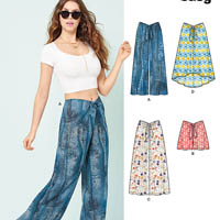New Look 6455 Pattern ( Size 10-12-14-16-18-20-22 )