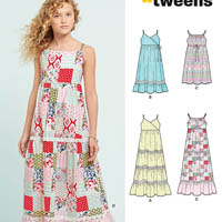 New Look 6466 Pattern ( Size 8-10-12-14-16 )