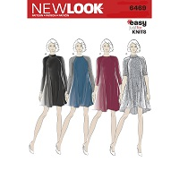New Look 6469 Pattern ( Size 8-10-12-14-16-18-20 )