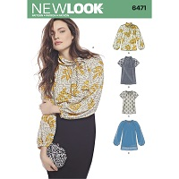 New Look 6471 Pattern ( Size 10-12-14-16-18-20-22 )