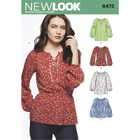 New Look 6472 Pattern