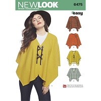 New Look 6475 Pattern ( Size S-M-L )
