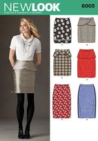 New Look 6003 Pattern( Size 8-10-12-14-16-18 )