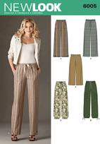 New Look 6005 Pattern( Size 10-12-14-16-18-20-22 )