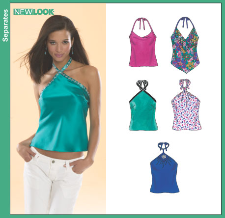 Surfer Girl Halter Top - Free Patterns - Download Free