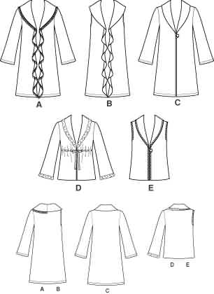 New Look Misses Coat, Jacket and Vest 6538