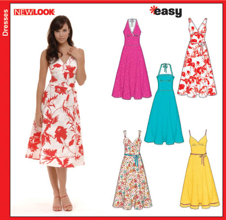 New Look Misses Dresses 6557