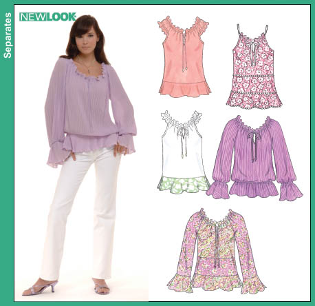 New Look Misses Blouse 6561