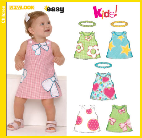 New Look Babies Dress and Headband 6576