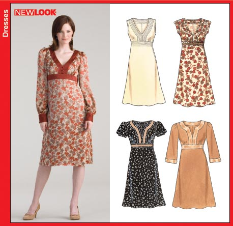New Look Misses Pullover Dresses 6615