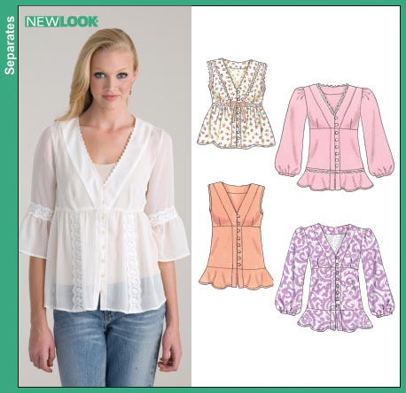 New Look Misses Blouse 6622