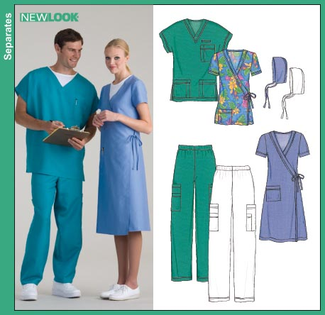 New Look Miss, Men or Teen Scrubs 6634