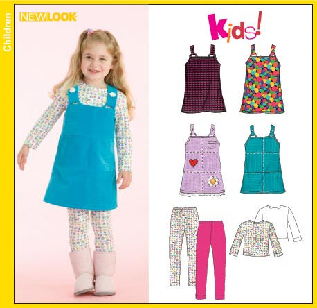 New Look Child Jumper, Knit Top and Leggings 6639OOP