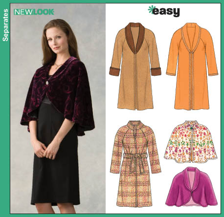 New Look Misses Coats and Lined Capelets 6645