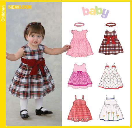 New Look Babies Dresses and Headband 6662