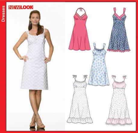 New Look Misses Dress 6676