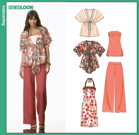 New Look Misses Jacket, Pants and Knit Dress & Top 6684