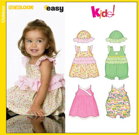 New Look Babies Dress, Romper and Hat 6687