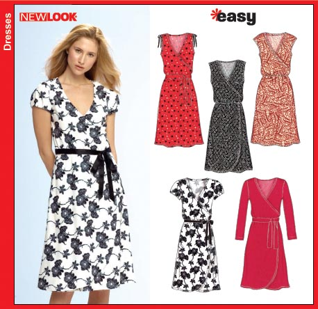 New Look Misses Knit Dress 6697