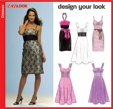 New Look Misses Dress 6699