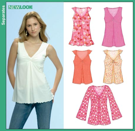 New Look Misses Knit Tops 6702
