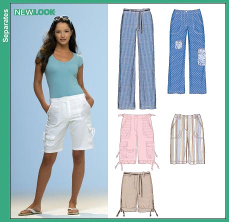 New Look Misses Pants Cropped Pants and Shorts 6709