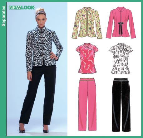 New Look Misses Jacket Top and Pants 6712
