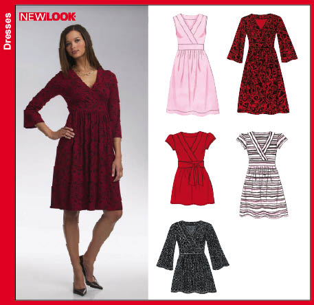 New Look Misses Knit Dress or Top 6722