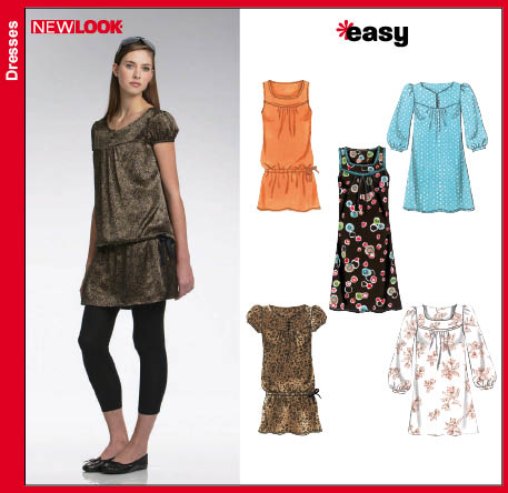 New Look Misses Dress Mini Dress or Tunic Top 6725
