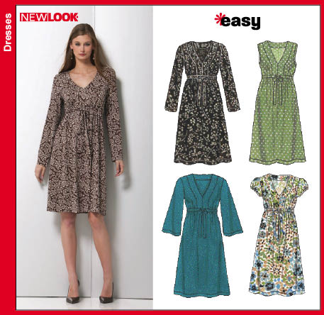 New Look Misses Knit Dresses 6748