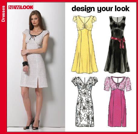 New Look Misses Dresses 6750