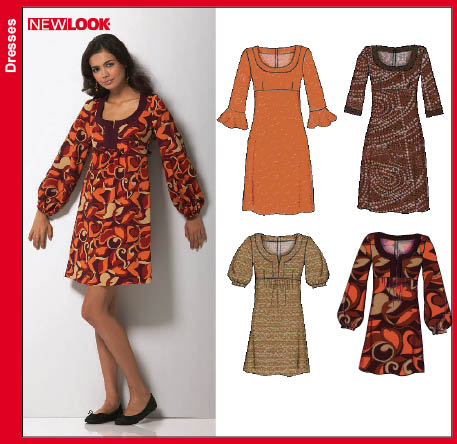 New Look  Misses Dress and Mini Dress 6751