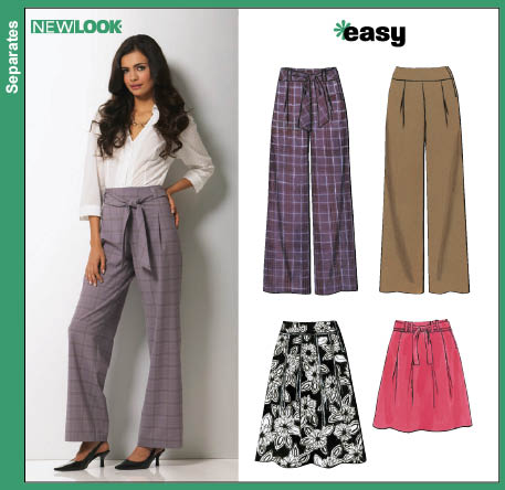 New Look  Misses Pants and Skirts 6757