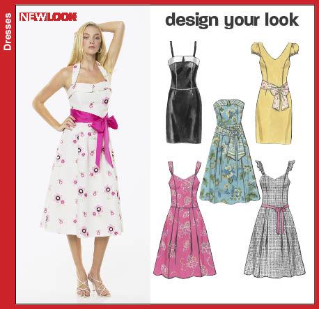 New Look Misses Design Your Look Dress 6773