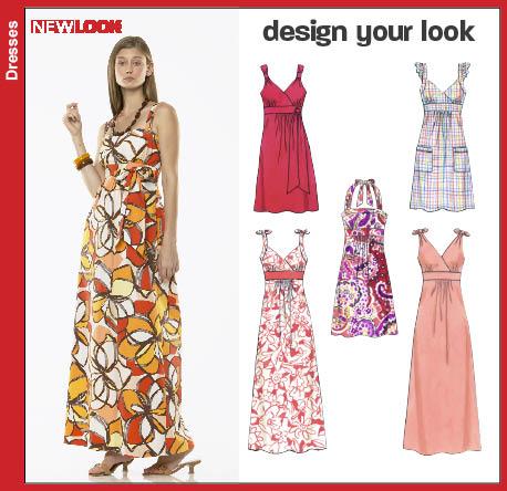 New Look Misses Dresses 6774