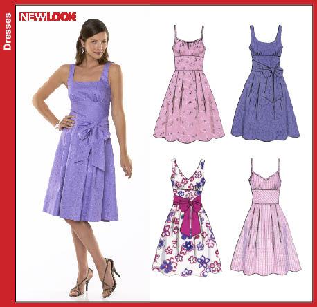 New Look Misses Dress 6776