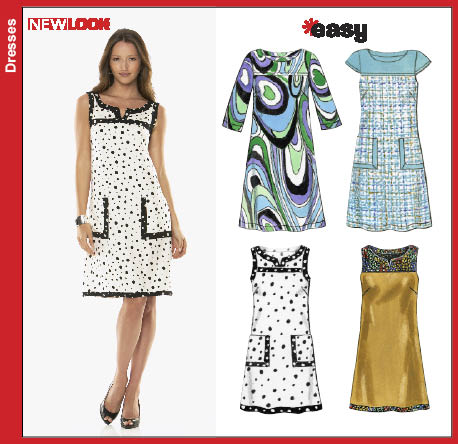 New Look Misses Dress 6779