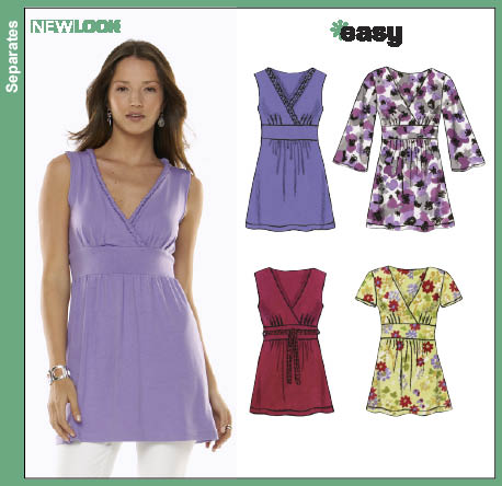 New Look Misses Knit Tops 6782