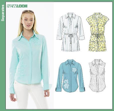 New Look Misses Shirt 6783