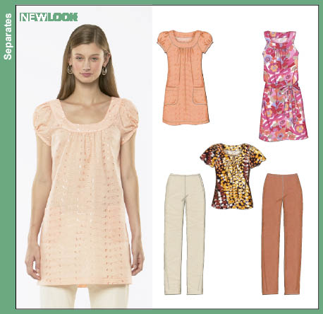 New Look Misses Dress or Top and Pants 6785
