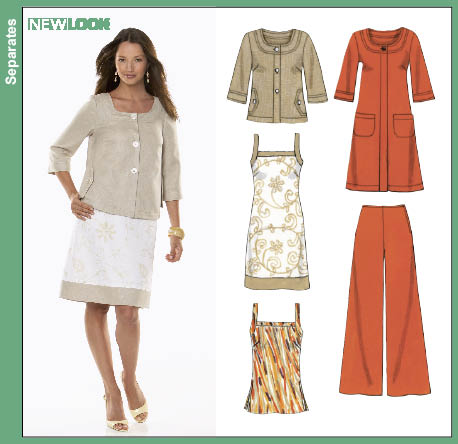 New Look Misses Dress Top Coat Jacket and Pants 6788