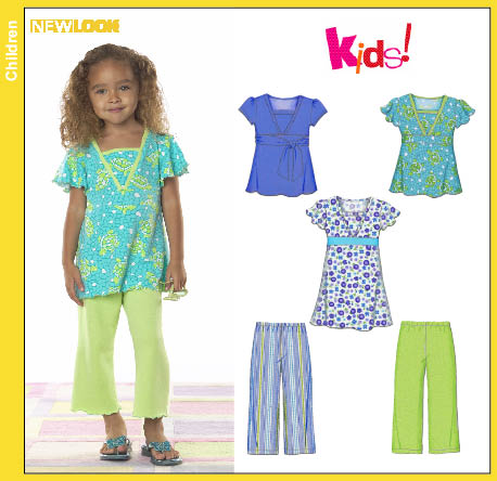 New Look Child Knit Pants Dress and Top 6797