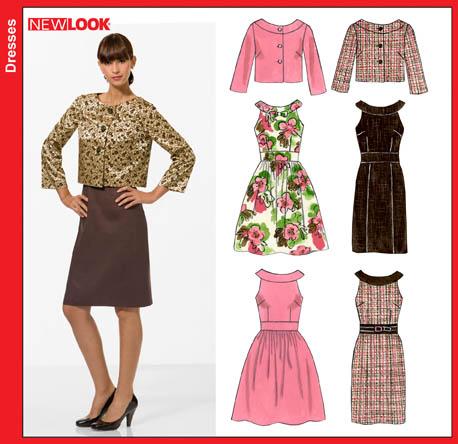 New Look Misses Dresses 6799