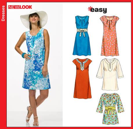 New Look Misses Dresses 6803