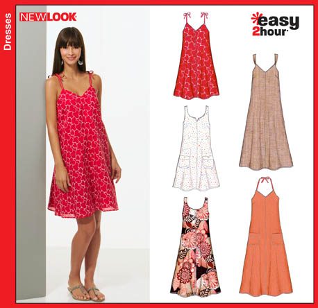 New Look Misses Dresses 6804