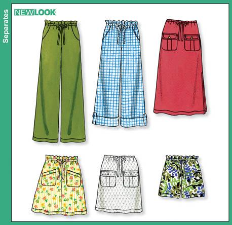 New Look Misses Skirts, Pants & Shorts 6811